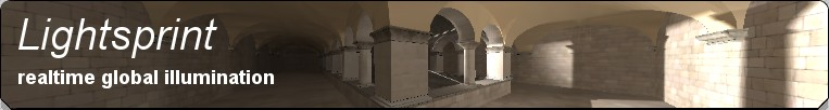 Lightsprint - realtime global illumination